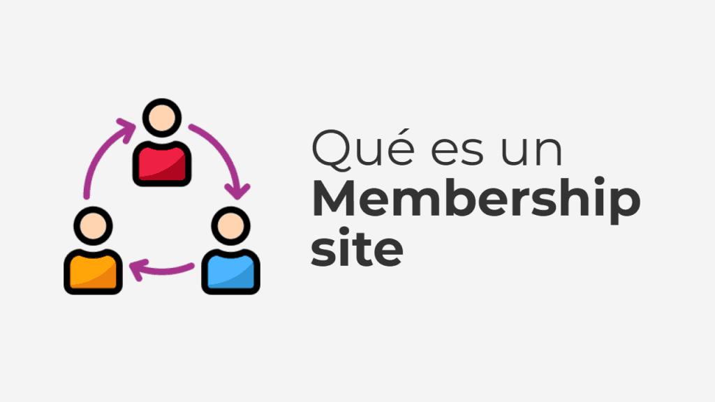 Que es un membership site