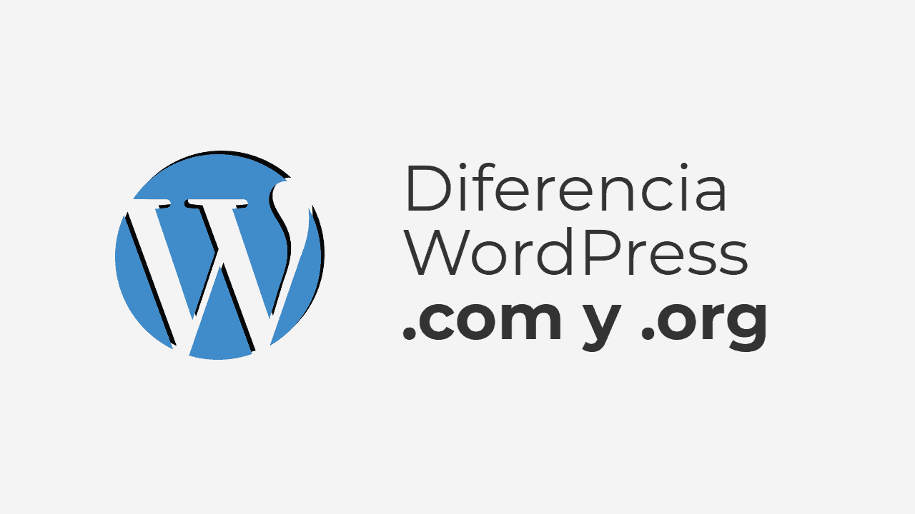 Diferencia entre WordPres.org y WordPress.com